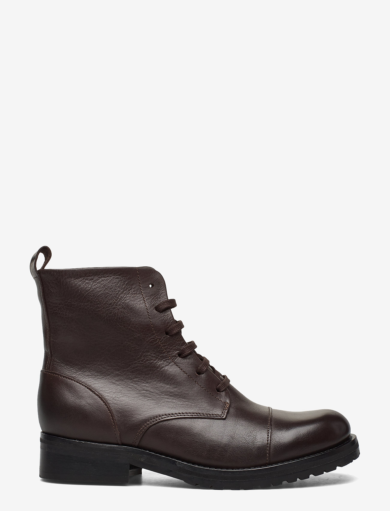 Royal RepubliQ - Ave Lace Up Boot - Black - niski obcas - brown - 1