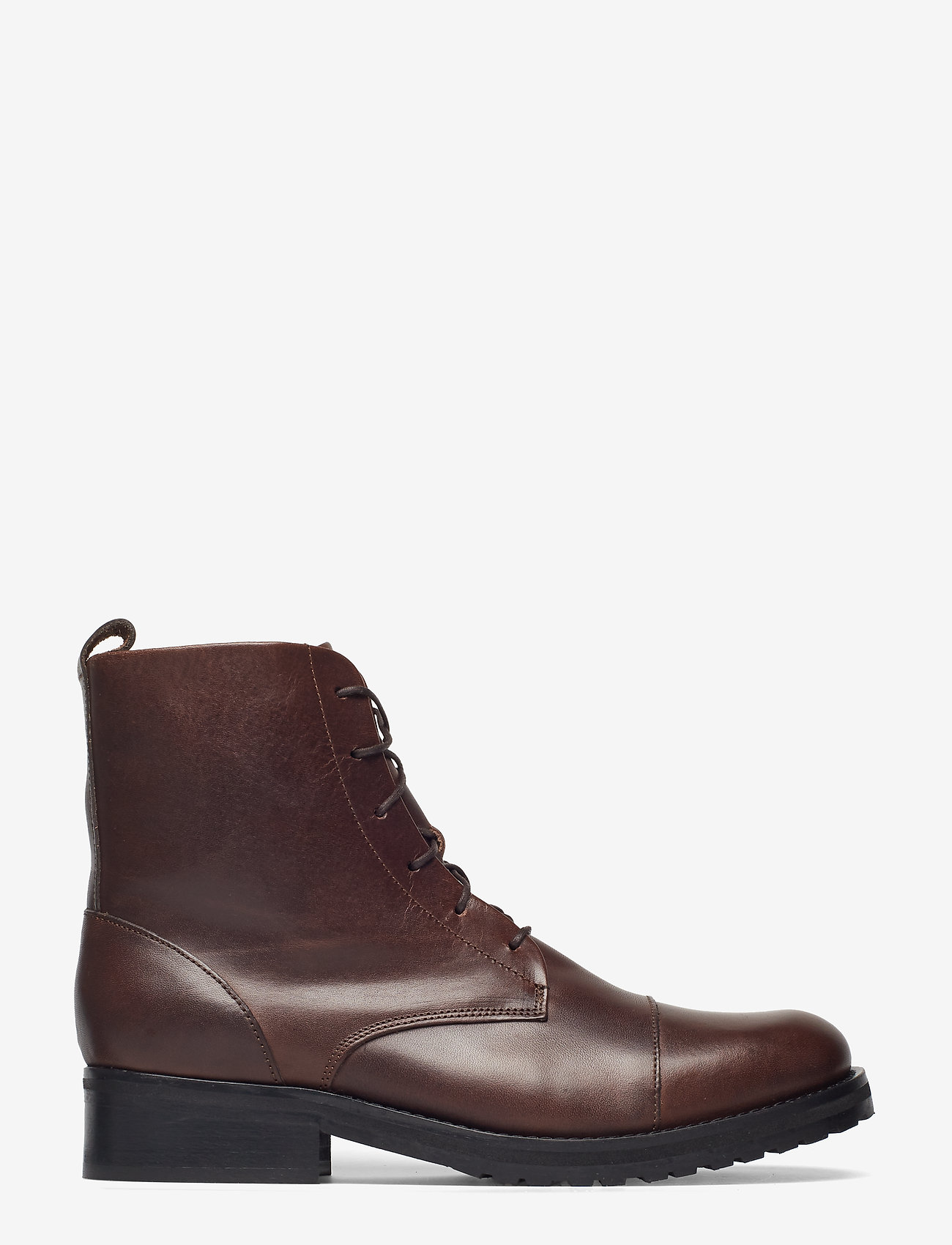 Royal RepubliQ - Ave Lace Up Boot - flat ankle boots - brown - 1