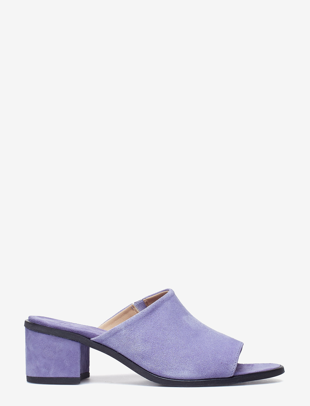 Royal RepubliQ - Town Mule Suede - heeled sandals - purple - 1