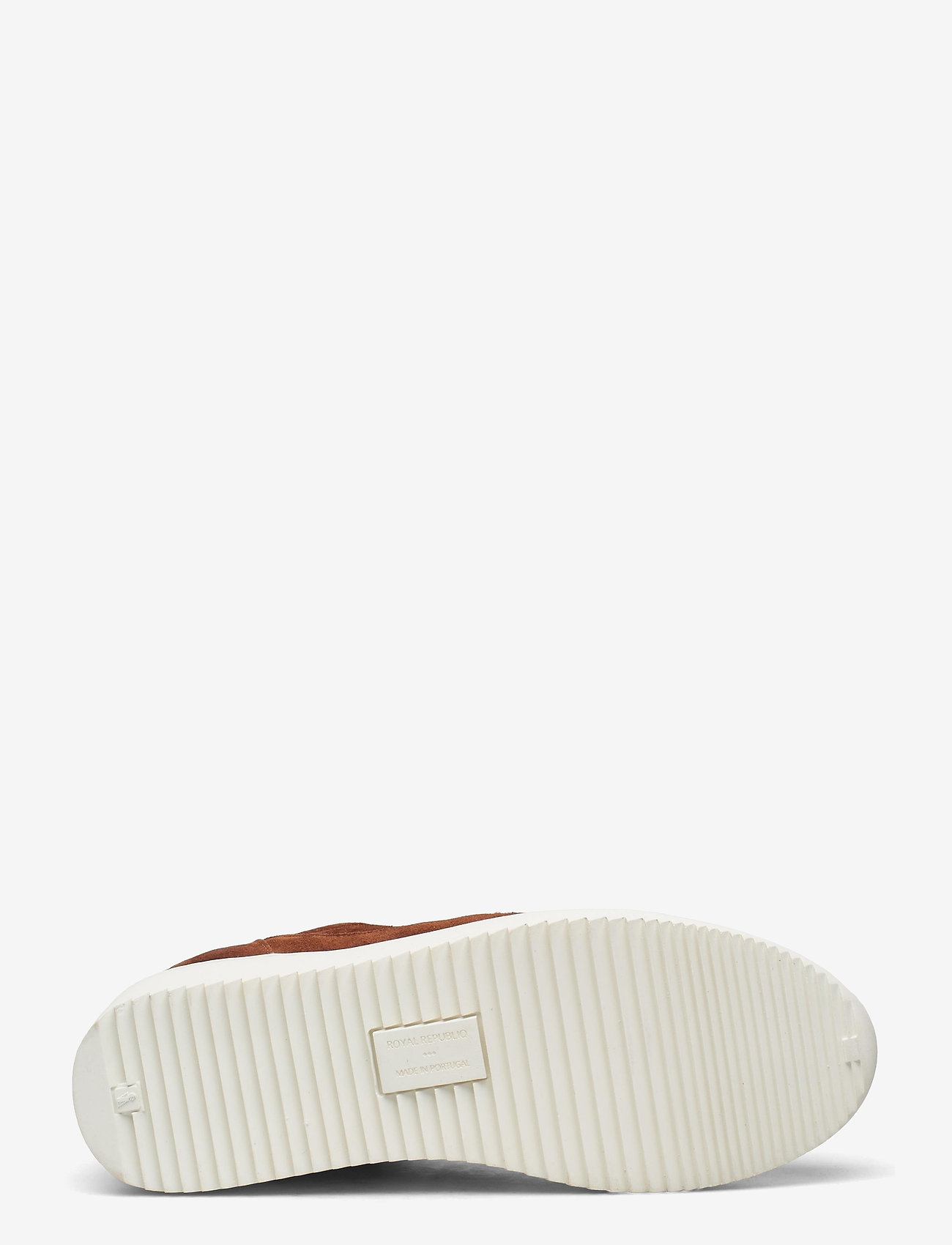 Royal RepubliQ - Bolt Oxford Shoe Suede 195 - sneakersy niskie - tan - 4