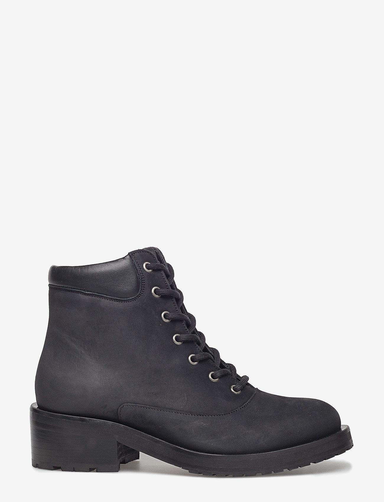 Royal RepubliQ - District Hiker Oxford Midcut - flade ankelstøvler - black - 1