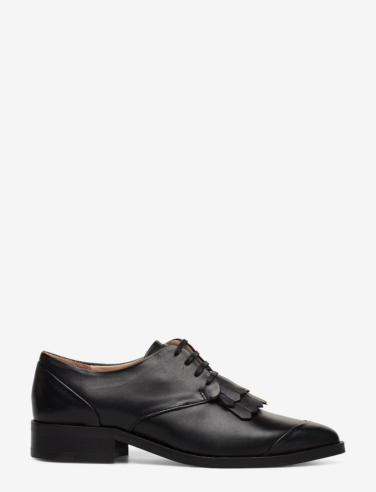 Royal RepubliQ - Prime Fringe Shoe - buty sznurowane - black - 1