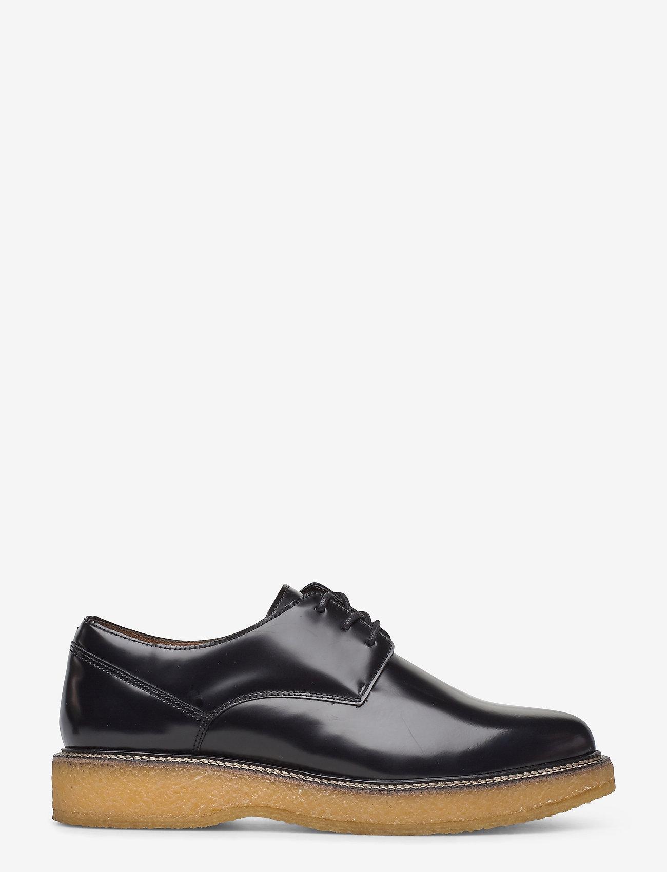 Royal RepubliQ - Border Crepe Derby Shoe - buty sznurowane - black - 1