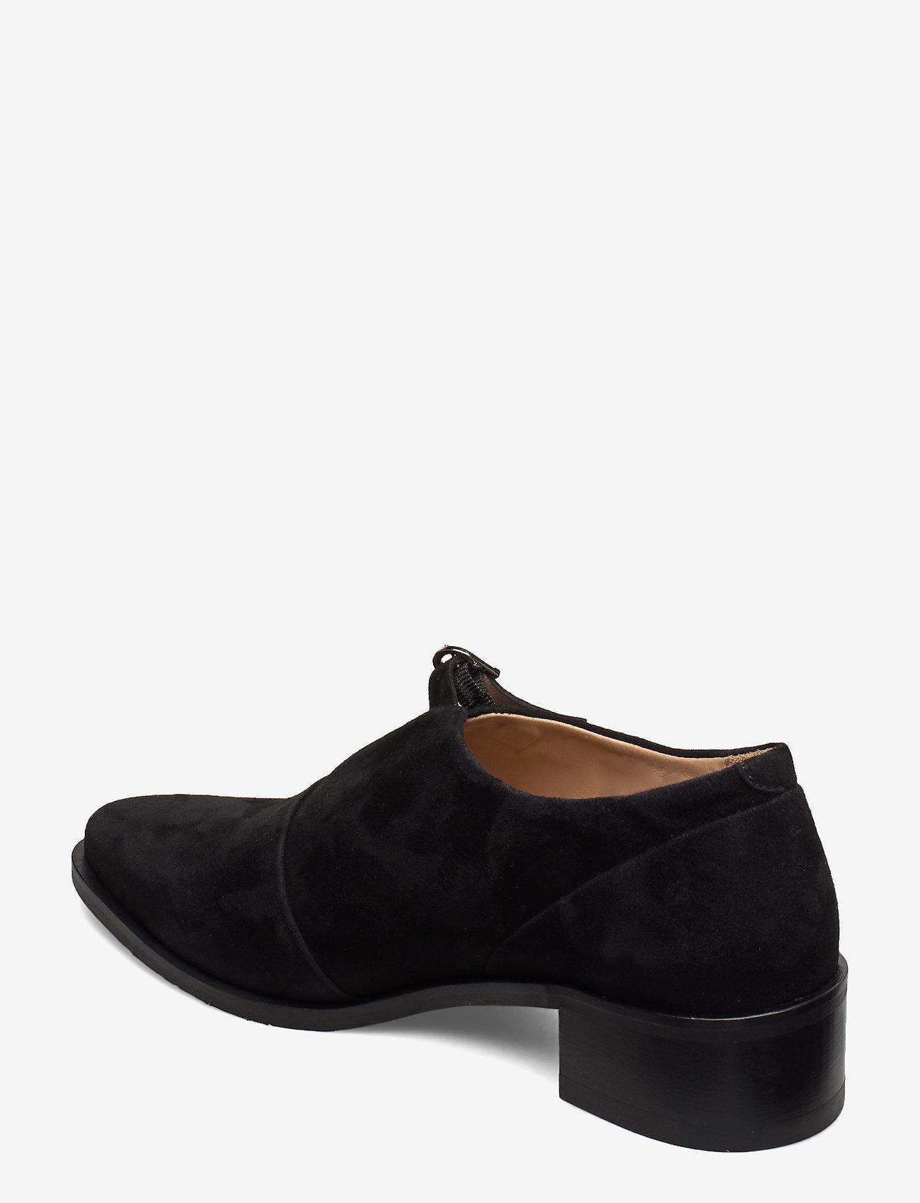 Elite Suede Monk Shoe (Black) - Royal RepubliQ