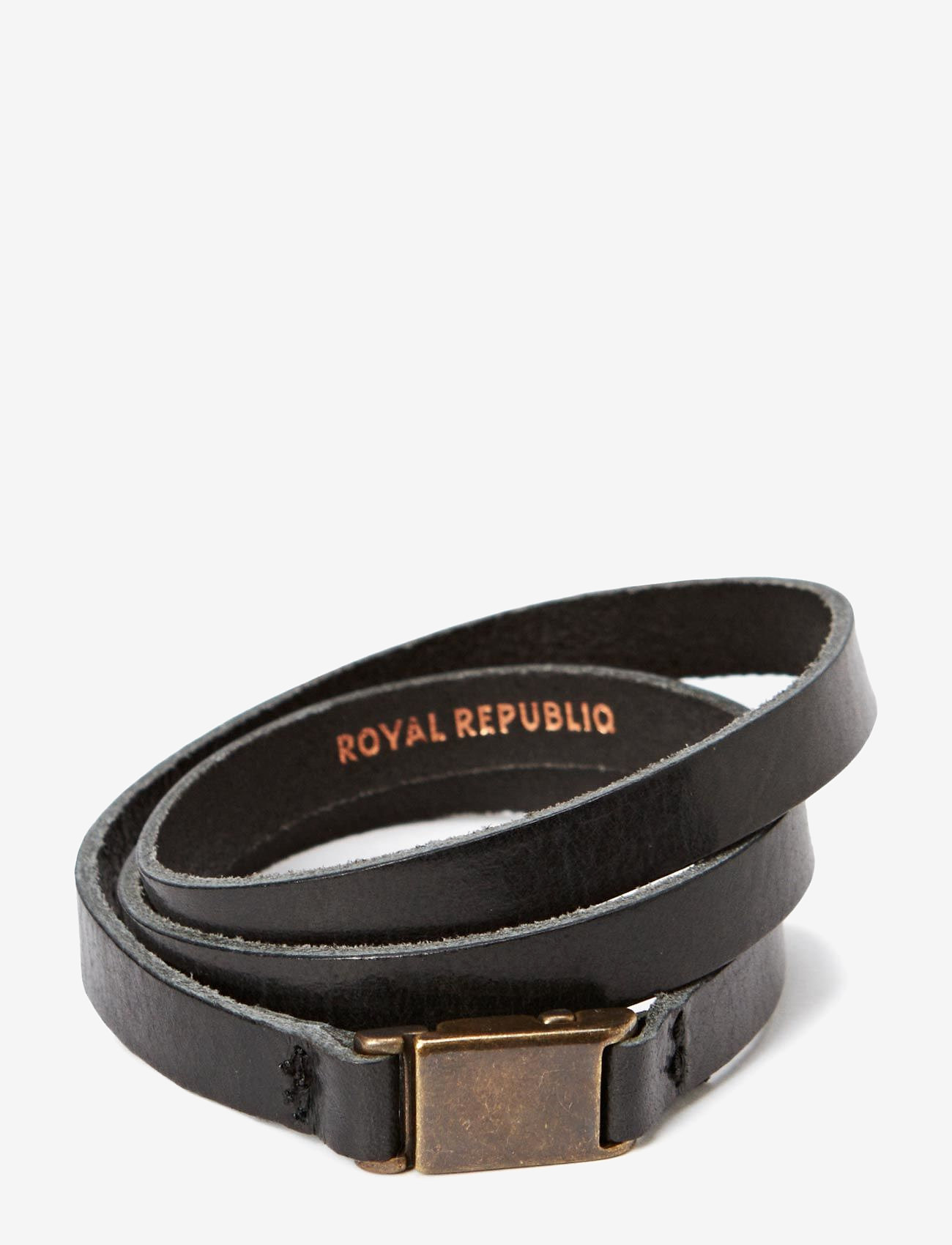 Royal RepubliQ - Clip bracelet/cuff - dainty - black - 0