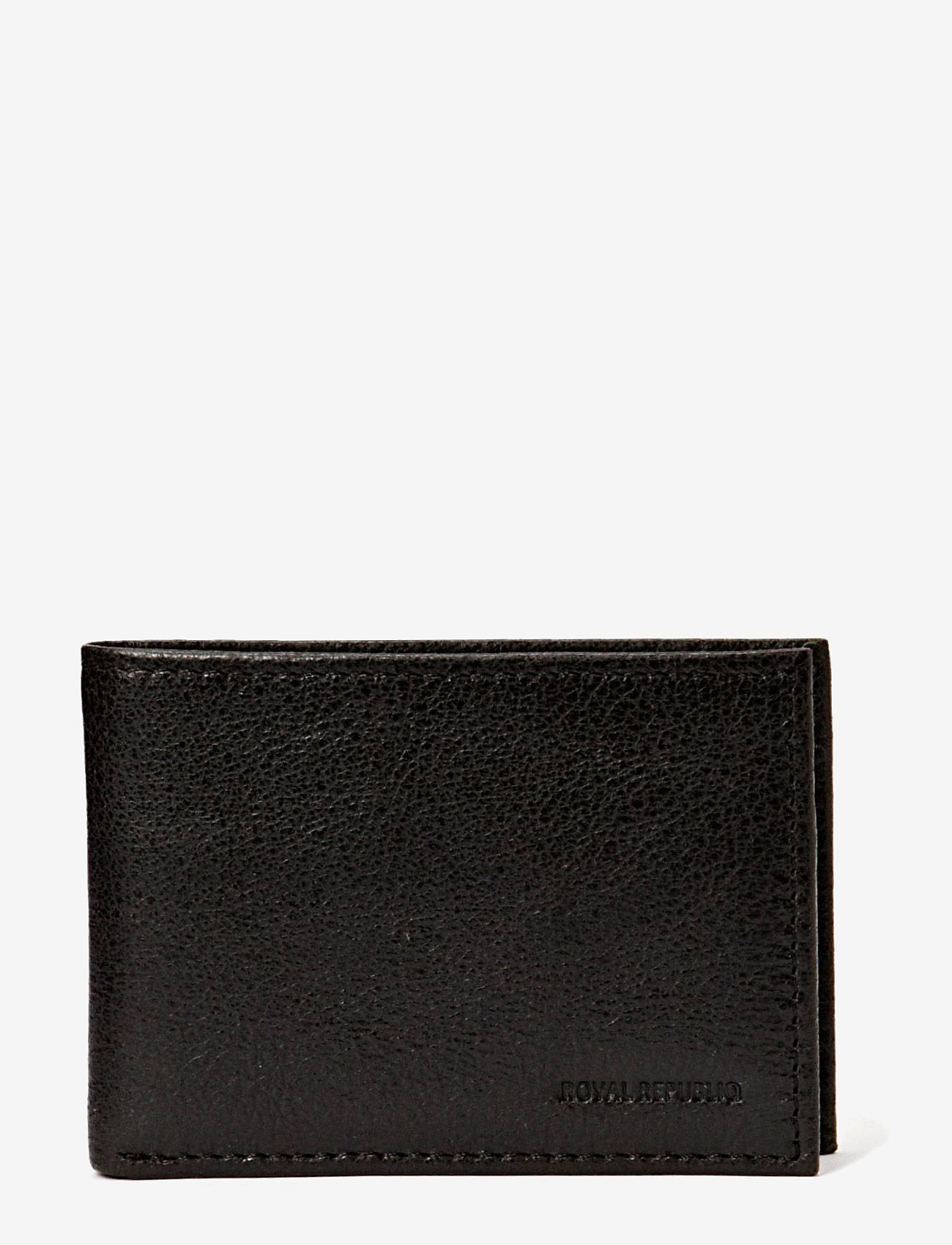 Royal RepubliQ - Nano wallet BLK - klassisk plånbok - black - 0