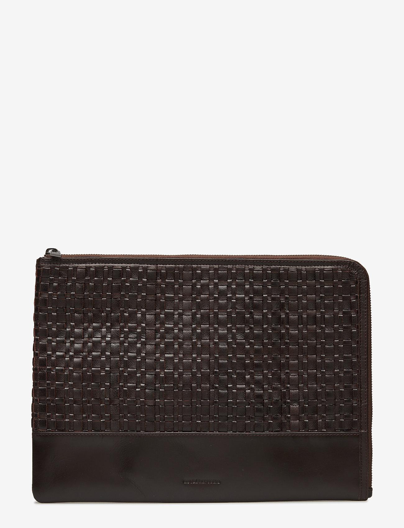 Royal RepubliQ - League Laptop Sleeve - laptop-väskor - brown - 0