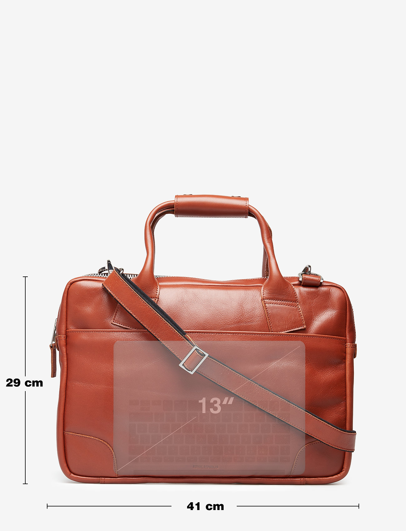 Royal RepubliQ Nano single bag - COGNAC