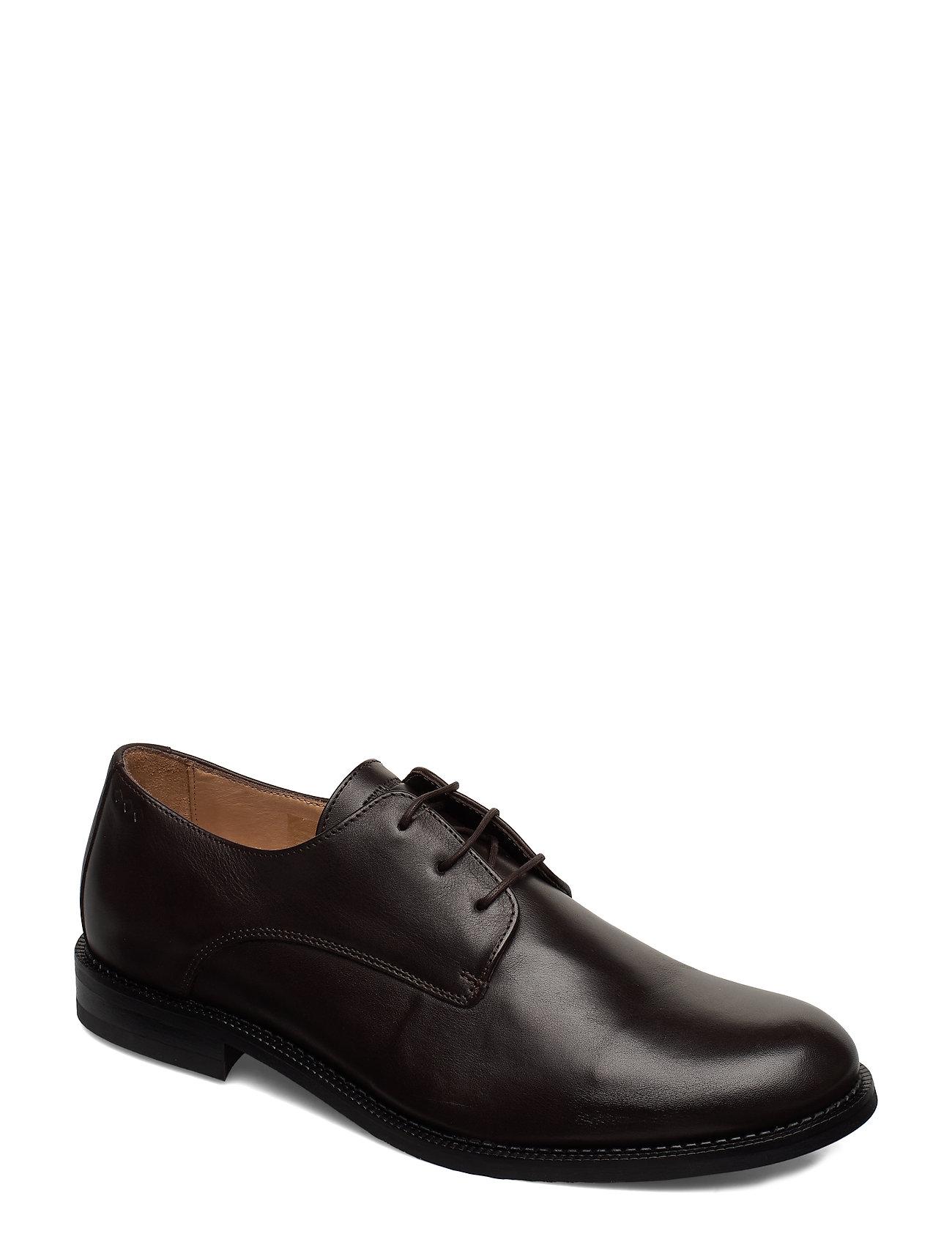 Image of Alias Classic Derby Shoe Shoes Business Laced Shoes Sort Royal RepubliQ (3318452727)