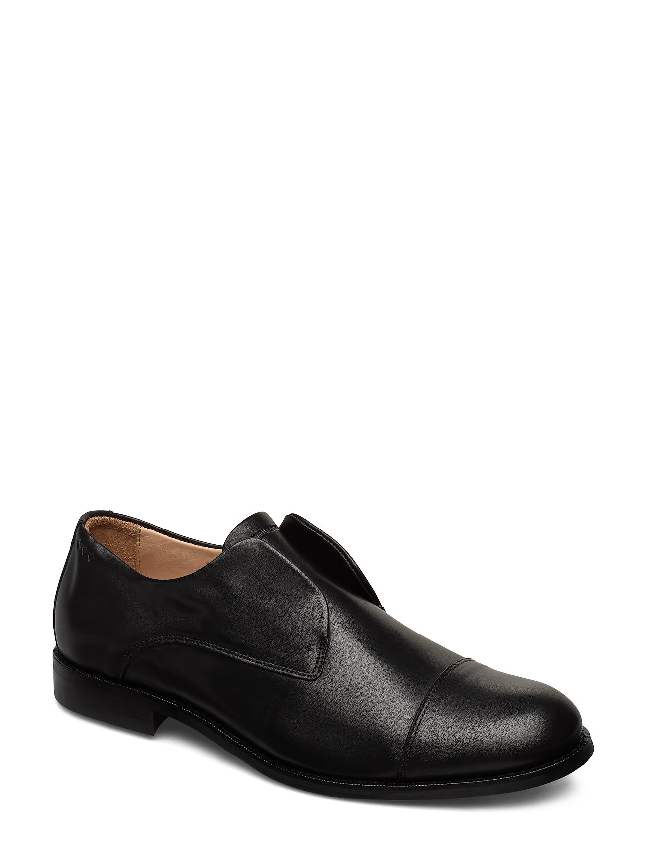 Royal RepubliQ Alias Classic Derby No Lace - BLACK