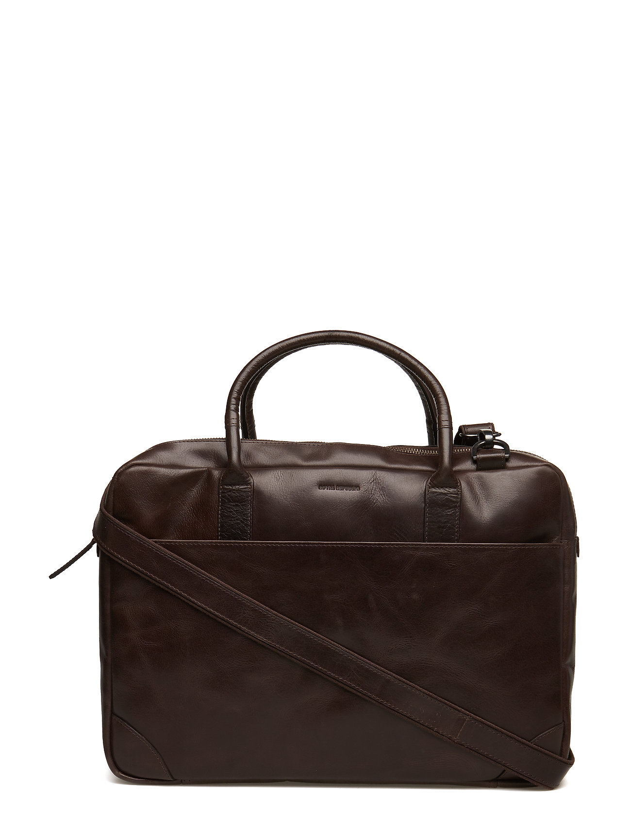 Royal RepubliQ Explorer laptop bag double - BROWN