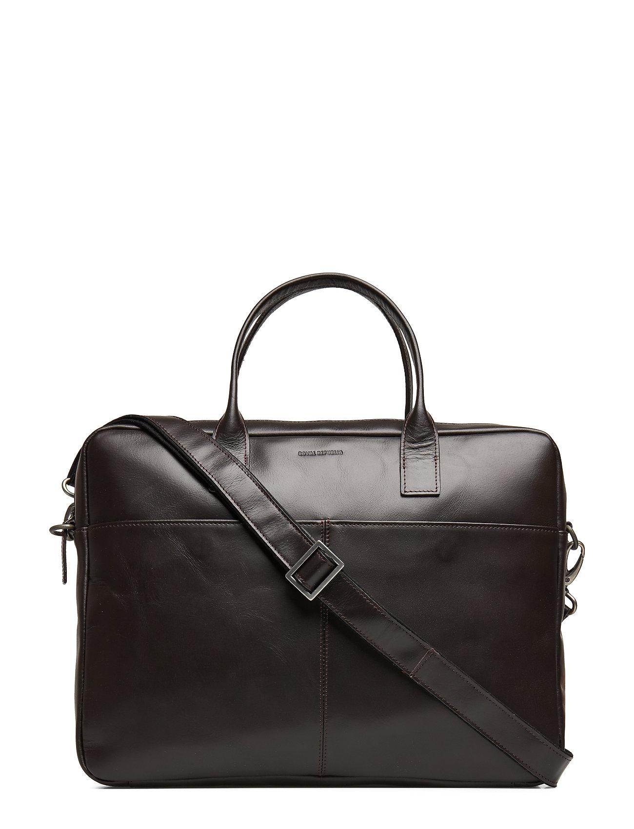 Royal RepubliQ Metropolis Laptop Bag - BROWN