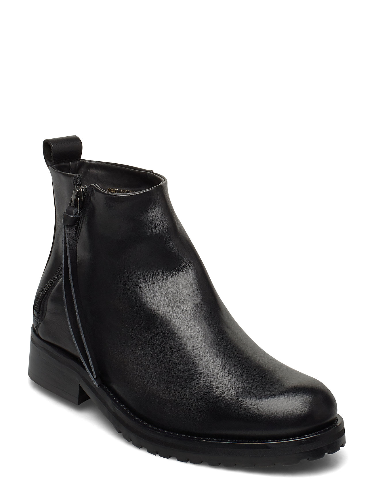 Image of Ave Ankle Boot - Black Shoes Boots Ankle Boots Ankle Boot - Heel Sort Royal RepubliQ (3430126993)