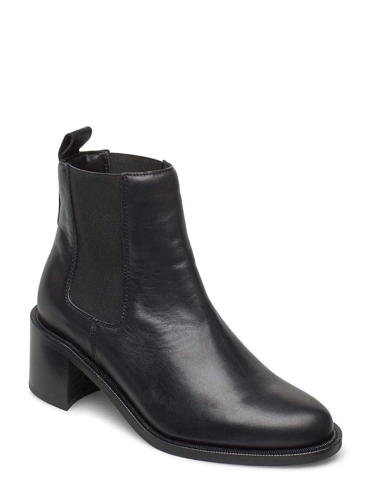 Image of Town Chelsea Shoes Boots Ankle Boots Ankle Boot - Heel Sort Royal RepubliQ (3429249391)
