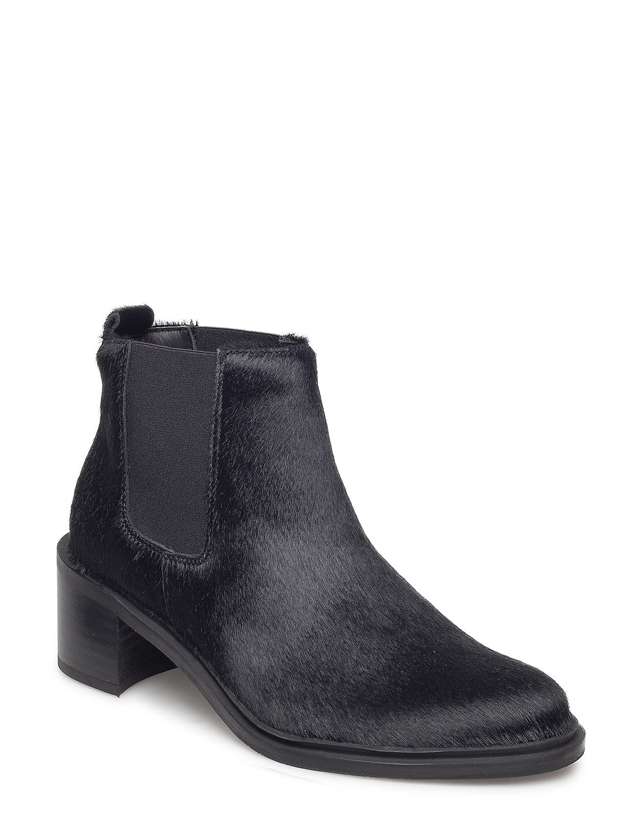 Image of Town Chelsea Pony Shoes Boots Ankle Boots Ankle Boot - Heel Sort Royal RepubliQ (3036122269)