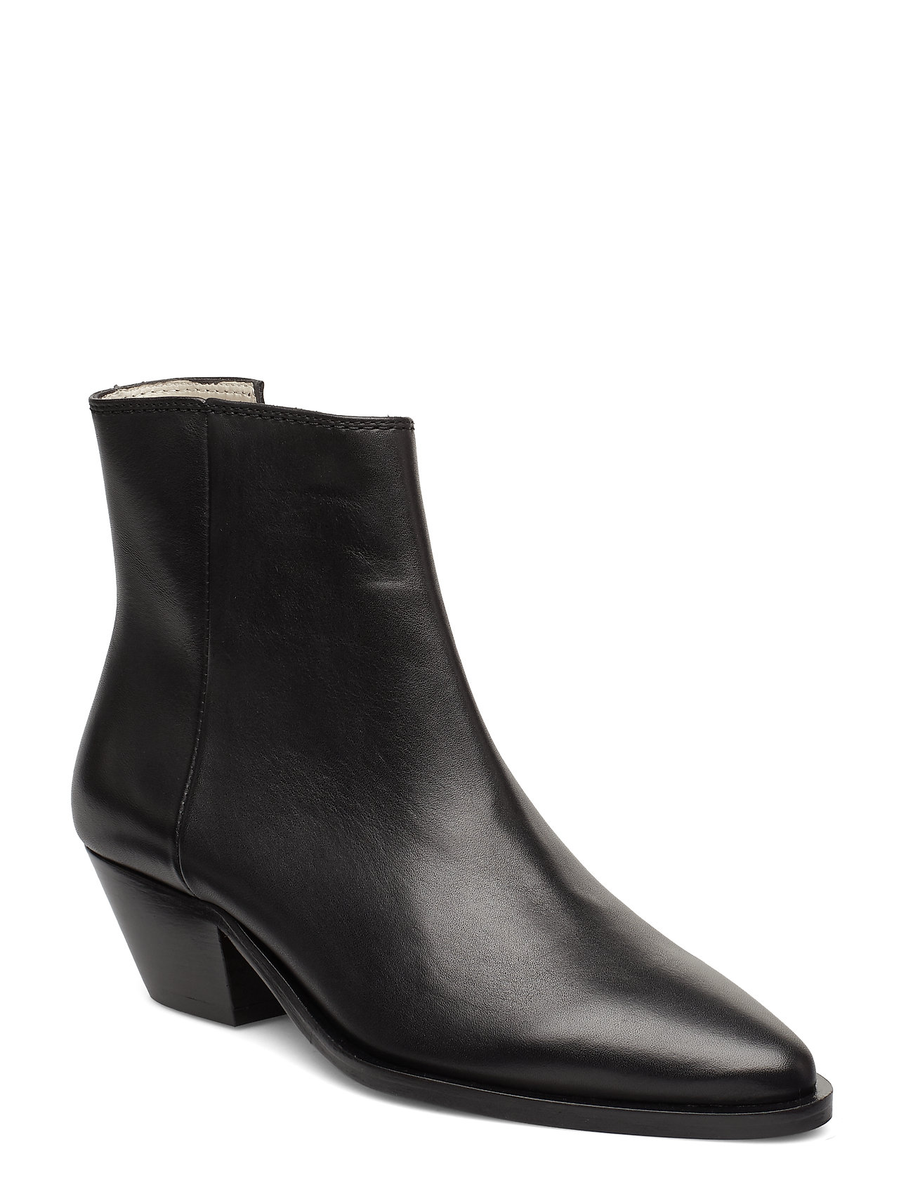 Image of Hunter Ankle Boot Shoes Boots Ankle Boots Ankle Boot - Heel Sort Royal RepubliQ (3207952351)