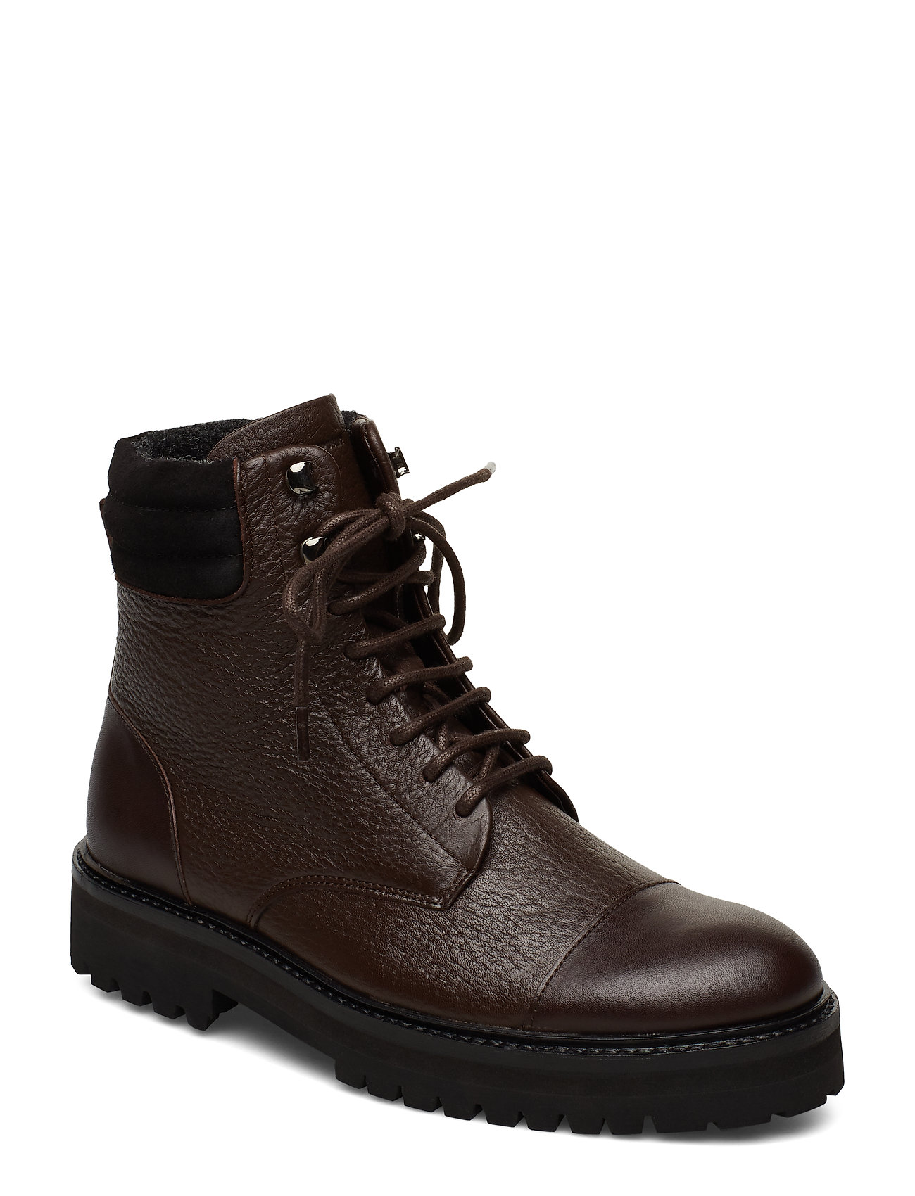 Image of Ave Hiker Combat Boot Shoes Boots Ankle Boots Ankle Boots Flat Heel Brun Royal RepubliQ (3220492857)