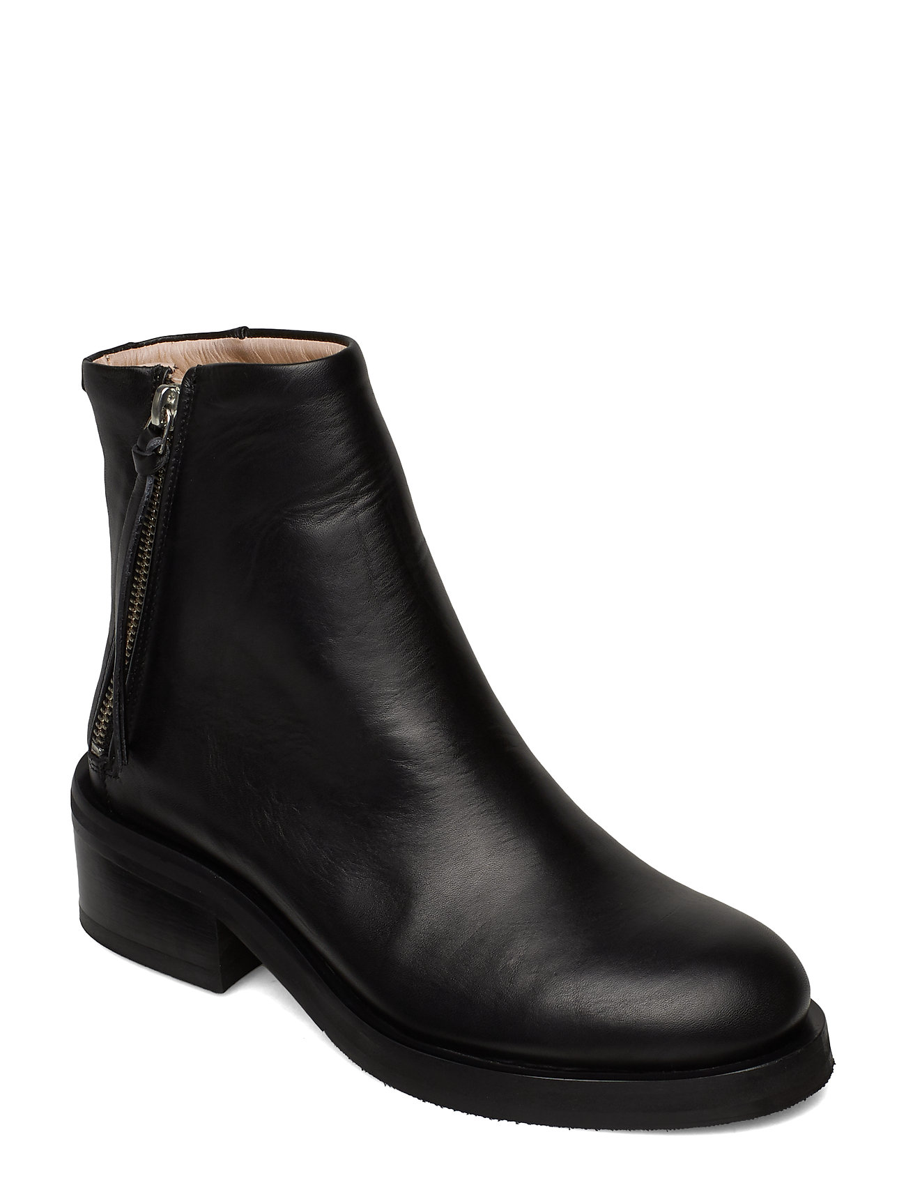 Image of District Ankle Boot Shoes Boots Ankle Boots Ankle Boots With Heel Sort Royal RepubliQ (3198433285)