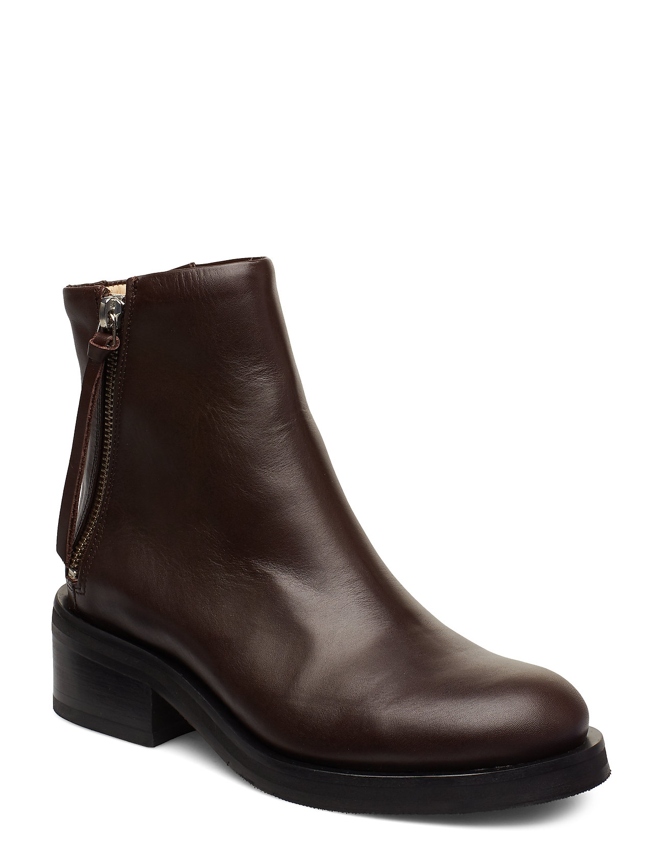 Image of District Ankle Boot Shoes Boots Ankle Boots Ankle Boot - Heel Brun Royal RepubliQ (3406180687)