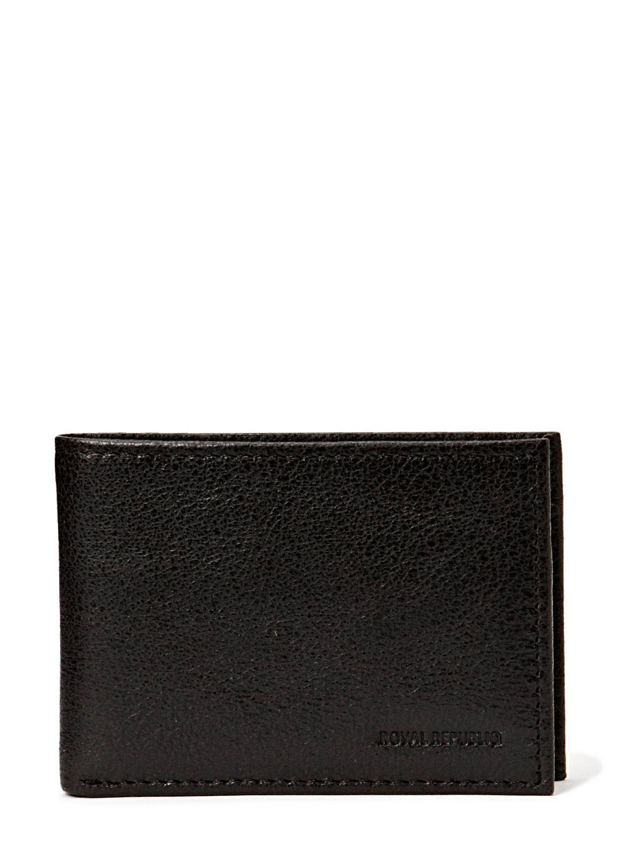 Royal RepubliQ Nano wallet BLK - BLACK