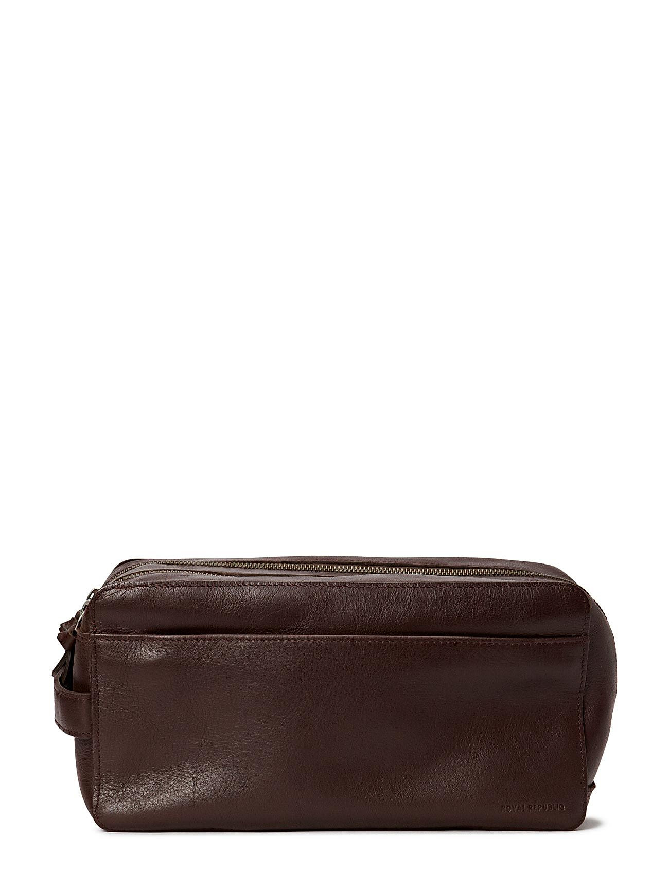 Royal RepubliQ Gemin Toilet bag - BROWN