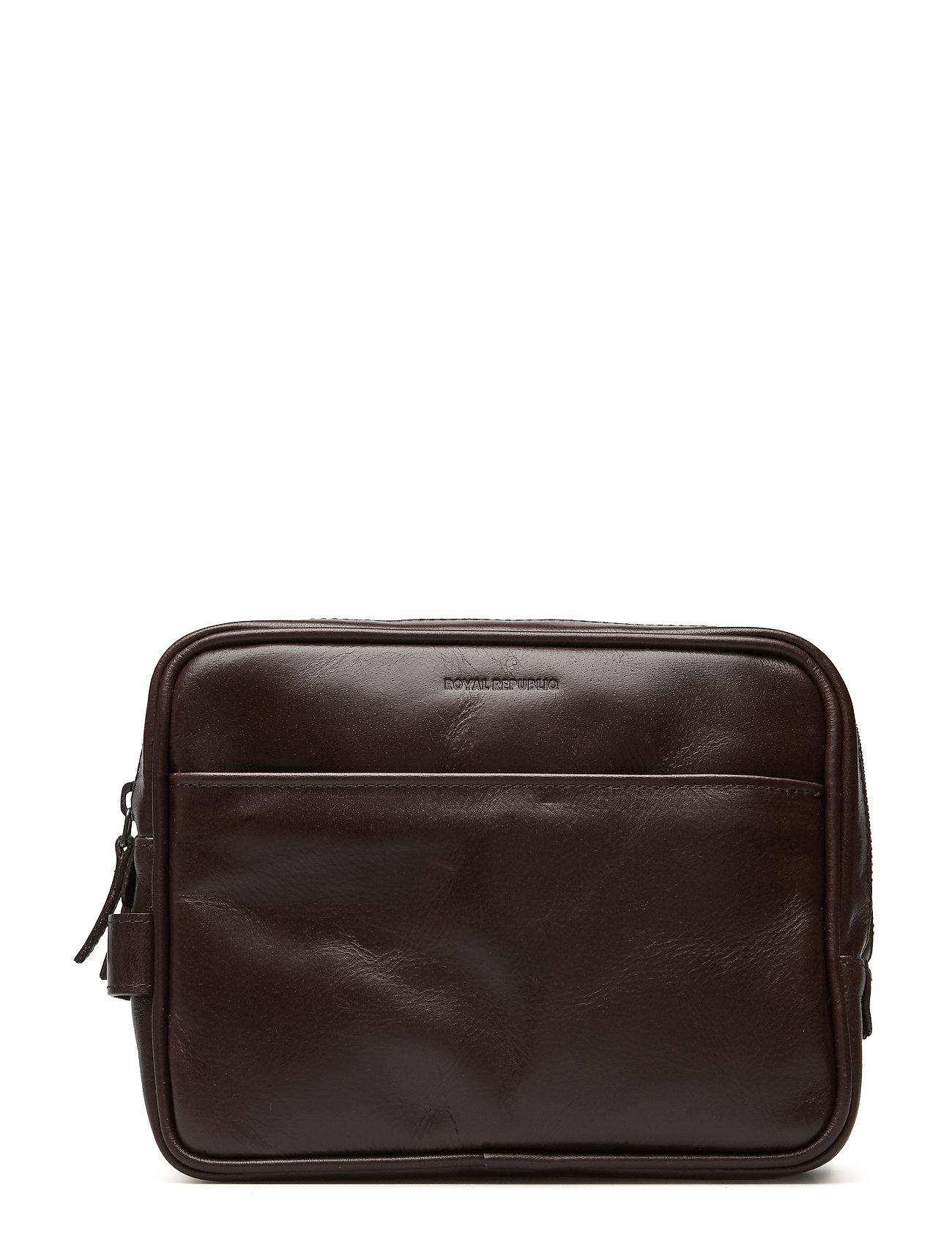 Royal RepubliQ Explorer Toilet Bag Mini - BROWN