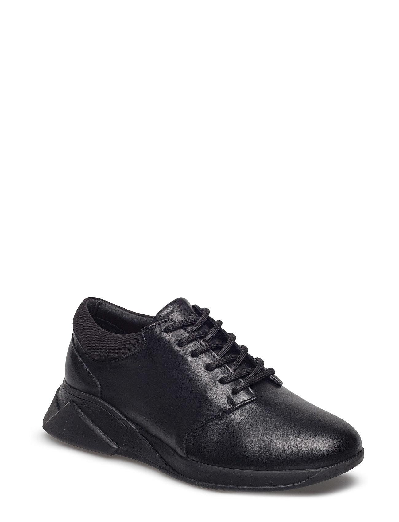 Image of Force Derby Shoe Wmn Low-top Sneakers Sort Royal RepubliQ (2646576317)