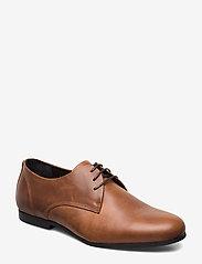 Royal RepubliQ - Cast derby shoe - snøresko - hazel brown - 0