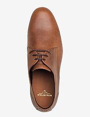 Royal RepubliQ - Cast derby shoe - snøresko - hazel brown - 3