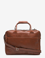 Royal RepubliQ - Nano big zip bag leather - laptoptassen - cognac - 0