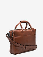 Royal RepubliQ - Nano big zip bag leather - laptoptassen - cognac - 2
