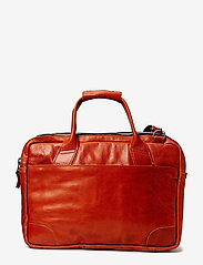 Royal RepubliQ - Nano big zip bag leather - laptoptassen - cognac - 3