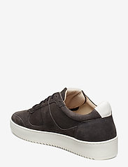 Royal RepubliQ - Bolt Oxford Shoe Suede - matalavartiset tennarit - anthracite - 2