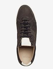 Royal RepubliQ - Bolt Oxford Shoe Suede - matalavartiset tennarit - anthracite - 3