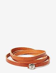 Royal RepubliQ - Spiral Bracelet - bangles - cognac - 0