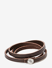 Royal RepubliQ - Spiral Bracelet - bangles - dark brown - 0