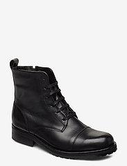 Royal RepubliQ - Ave Lace Up Boot - Black - niski obcas - black - 0