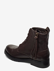 Royal RepubliQ - Ave Lace Up Boot - Black - niski obcas - brown - 2