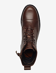 Royal RepubliQ - Ave Lace Up Boot - flat ankle boots - brown - 3