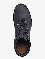 Royal RepubliQ - District Hiker Oxford Midcut - flade ankelstøvler - black - 3