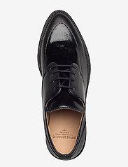 Royal RepubliQ - Prime Glaze Derby Shoe - snörskor - black - 3