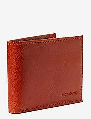 Royal RepubliQ - Nano wallet BLK - lommebøker - cognac - 1