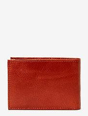 Royal RepubliQ - Nano wallet BLK - lommebøker - cognac - 2