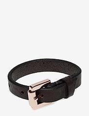 Royal RepubliQ - COIL BRACELET SLIM - jewellery - brown - 0