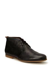 Cast derby shoe - caramel sole (NOOS) - BLACK
