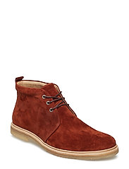 Cast Crepe Chukka Suede - TAN