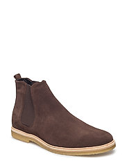 Cast Crepe Chelsea Suede - BROWN