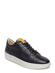 Bolt Oxford Shoe - BLACK
