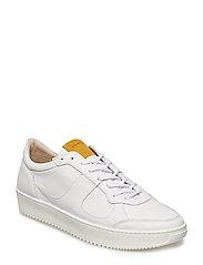 Bolt Oxford Shoe - WHITE