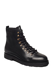 TediQ Hiker Oxford Combat Boot - BLACK
